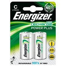 Confezione 2 Batterie Ricaricabili Torcia
