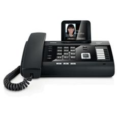 """DL 500A Telefono fisso Display da 3,5"""" a colori Connessione bluetooth al cellulare per chiamte entranti e uscenti"""
