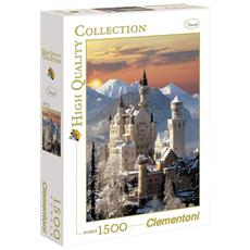 Puzzle Travel Neuschwanstein 1500 pz 84.5 x 60 cm 31925