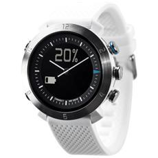 Smartwatch Classic in Silicone Impermeabile 10ATM Bluetooth per Android e iOS Bianco - Italia