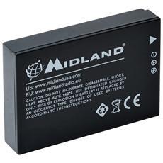 Batteria al Litio per Action Cam XTC400 Capacità 1700 mAh