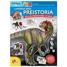 Predatori Della Preistoria (I) (Quaderno+Stickers Stacca-Attacca)