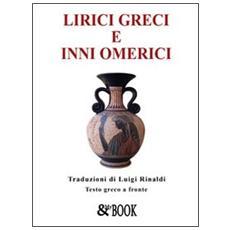 Lirici greci e inni omerici