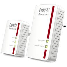 Powerline 540E Kit di 2 Powerline 500 Mbps 2 x LAN Gigabit Wi-Fi N300