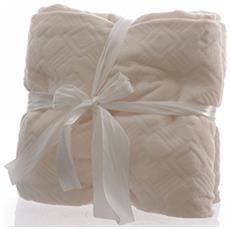 Plaid Cm. 130x150 600gr Bianco