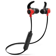 Auric. Bluetooth Sport Stereo 4.1 A Filo Magnet Black / Red