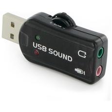 Adattatore USB Doppio Jack