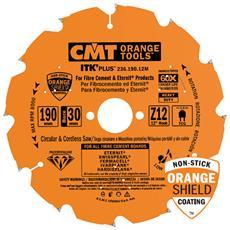 Lama Circolare X Fibrocemento Dp 190x2.4/1.8x30 Z12 Tcg 236.190.12m