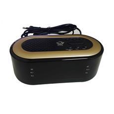 Radiosveglia Radio Sveglia 8828 Display Lcd Led Rosso Sleep Snooze Usb Ricarica Smartphone Fm Pll