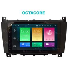 """Autoradio Mercedes W203 Octacore Android Gps Bluetooth Mirror Link Airplay Usb Mp3 7"""""""" Full Hd Fullto"""