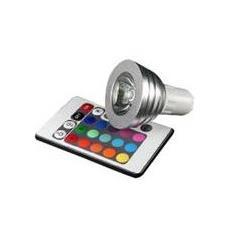 RGB Spotlight, A, Blu, Verde, Rosso, Alluminio, Trasparente, Bianco, 4 W, 50/60, Alluminio, Vetro
