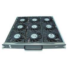 Cisco Catalyst 6513-E Fan Tray, Ventilatore, Computer case, 14 cm, Nero, Cromo, Metallo, Plastica