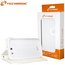 Copertura per Smartphone con Supporto Bianco CUST-C451-WH