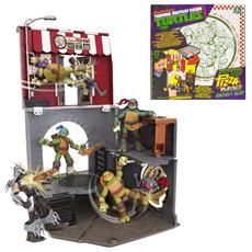 Tartarughe Ninja Pop-Up Pizza Playset