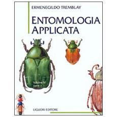 Entomologia applicata. Vol. 4/1: Coleotteri (Da Cicindelidi a Lucanidi) .