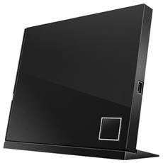 SBC-06D2X-U, 15 - 80%, Computer portatile, Blu-Ray DVD Combo, Nero, Vassoio, USB 2.0
