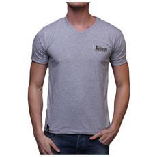 T-shirt Uomo Scollo A V Xxl Grigio