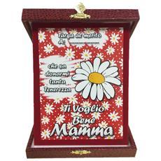 Targa Festa Della Mamma Ti Voglio Bene Idea Regalo Ps 05894