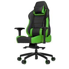Sedia Ergonomica Gaming P-Line PL6000 Racing colore Nero / Verde