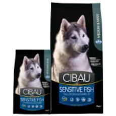 Cibo per cani Sensitive Fish Medium / Maxi 2,5 kg