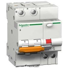 Domc45c163 – Interruttore Magnetotermico Differenziale Domc45 1p+n C 16a 30ma Tipo A