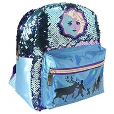 Disney Frozen - Zaino Casual Con Paillettes Elsa 2, Per Il Tempo Libero E Lo Sport, Unisex, Multicolore, Taglia Unica