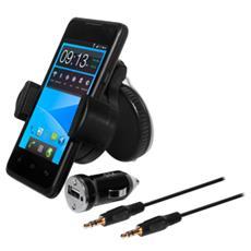 ESCARUSBBUM / PK, Telefono cellulare / smartphone, Auto, Nero, 360, 3,5 mm, Cablato