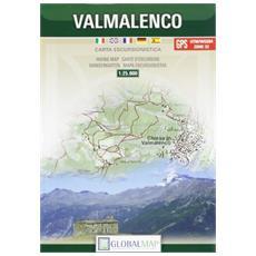 Valmalenco carta escursionistica