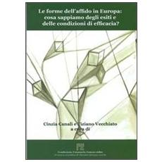 Le forme dell'affido in Europa. Cosa sappiamo degli esiti e delle condizioni di efficacia?