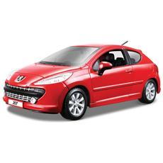 DieCast 1:24 Auto Peugeot 207 vari colori (Sogg. casuale) 22102