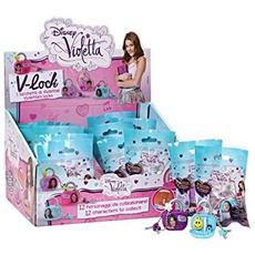Violetta V-Lock Lucchetto+Chiavi+Ciondolo+Braccialetto