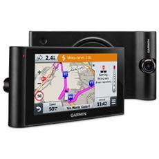 """DezlCam LMT per Autocarri Display 6"""" +Slot MicroSD Mappe Europa 46 paesi con aggiornamenti gratuiti + Dash cam integrata - Italia"""