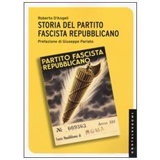 Storia del partito fascista repubblicano