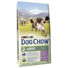 Dog Chow Cane Adulto, Agnello E Riso Kg. 2,5
