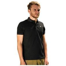 Polo Shirt Black Nero L