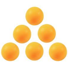 Palline Ping-pong Arancioni Giallo Taglia Unica