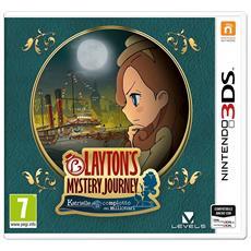 N3DS - Layton'S Mystery Journey: Katrielle e il Complotto dei Milionari