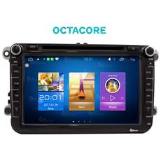 Autoradio Vw Golf Polo Passat Sharan Touran Andorid 7.1 Gps Bluetooth Octacore Mirror Link Usb Sd
