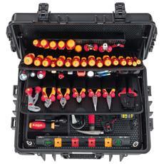 Competence Xxl Ii 115 Pz Set Di Attrezzi Per Elettricista 42069
