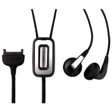 Fashion Stereo Headset HS-31, Stereofonico, Nero, Cablato, E50, E60, E61, E65, E70, N70, N71, N72, N73, N80 N90, N93, N93i, 3200, 3230, 3250, 5070, 5100, , Telefono