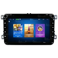 Autoradio Vw Golf Polo Passat Sharan Touran Andorid 6.0 Gps Bluetooth Jfsound Mirror Link Usb Sd Mp3