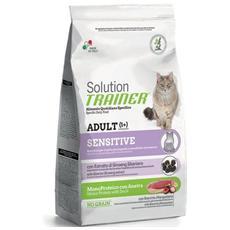 Cibo per gatti Sensitive Monoproteico con Anatra 1,5 kg