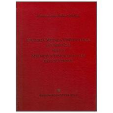 Materia medica omeopatica d'urgenza nella medicina fisiologica di regolazione