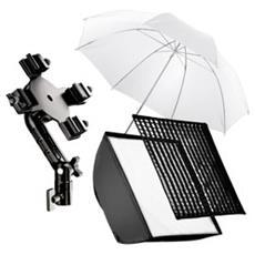 4f Blitzhalter SB 60, Umbrella white - Europa