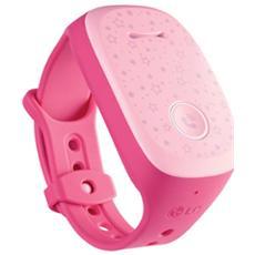 Smartwatch Kizon Bracciale per Bambini con Chiamate GPS Vivavoce 1GB - Rosa