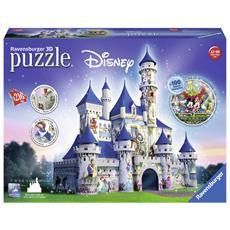 12587 - Puzzle 3d Maxi - Disney Fantasy Castle 216 Pz