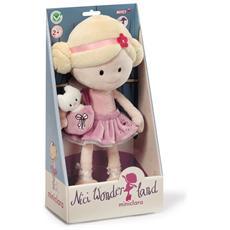 Bambola Ballerina Miniclara In Peluche