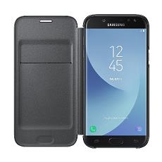 Flip Cover Custodia per Galaxy J5 Colore Nero