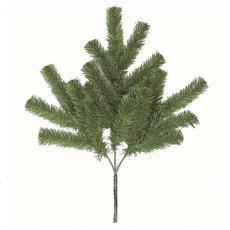 Ramo Natalizio Verde 60cm Pvc Addobbi Natale Decoro