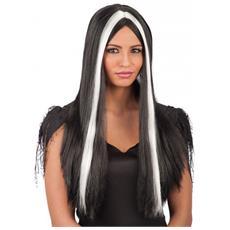 Halloween Parrucca Morticia